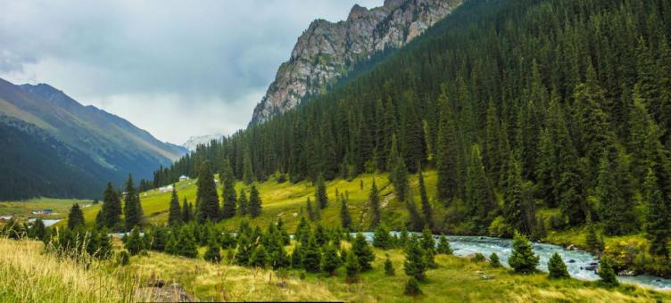 Main image ofAu coeur du Kirghizstan