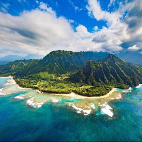 Main image ofAu milieu du pacifique, les iles Hawaiennes