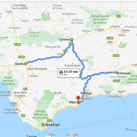 Main image ofRoadtrip Andalousie : Séville, Cordoue, Grenade, Malaga