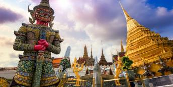 Destination image of Bangkok