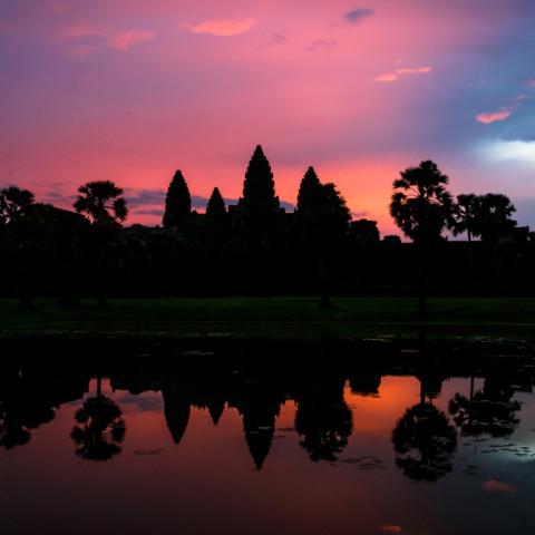 Destination image of Cambodia