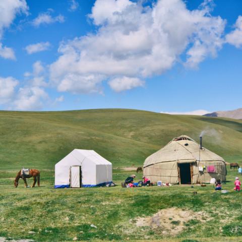 Destination image of Kyrgyzstan