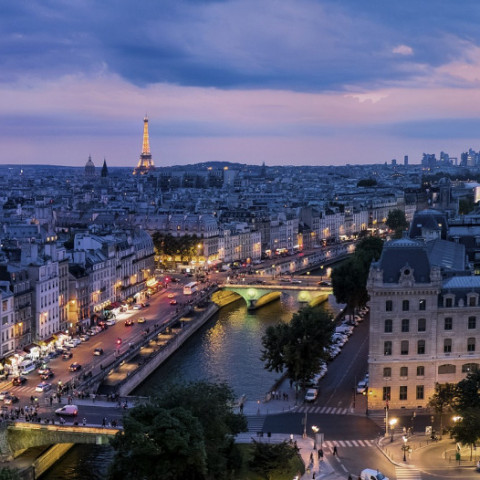 Destination image of Paris