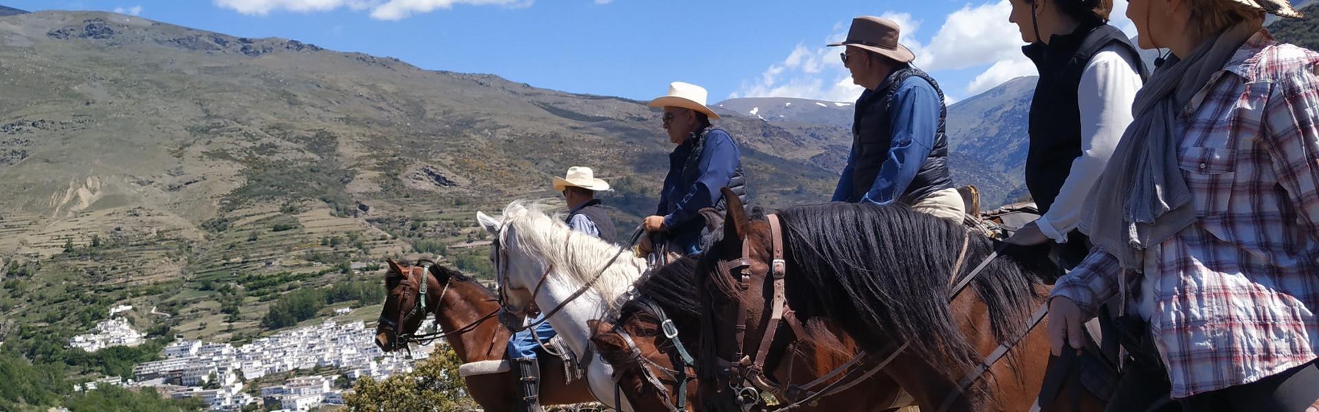 Main image ofANDALOUSIE - A cheval au coeur de la Sierra Nevada et du désert de Tabernas