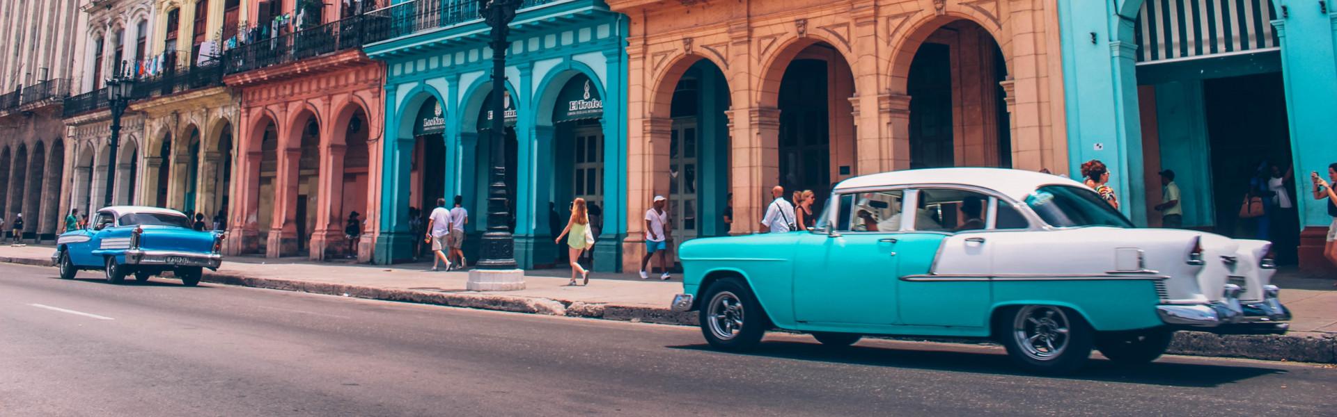 Destination image of Cuba