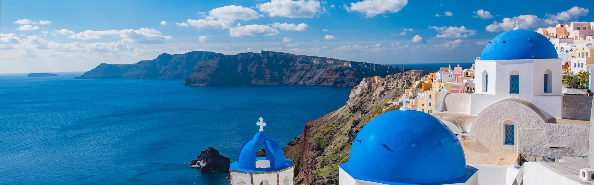 Destination image of Greece
