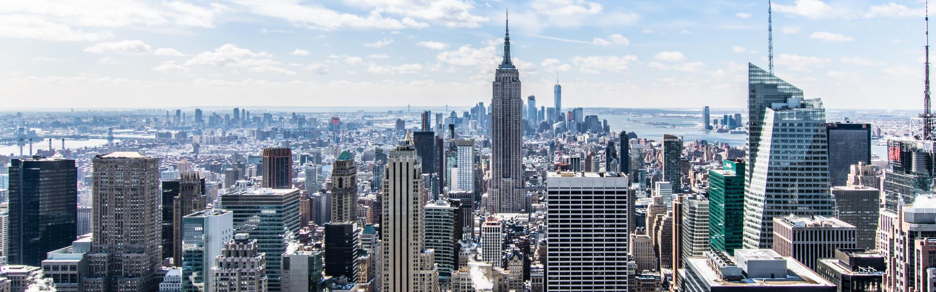 Destination image of New York City