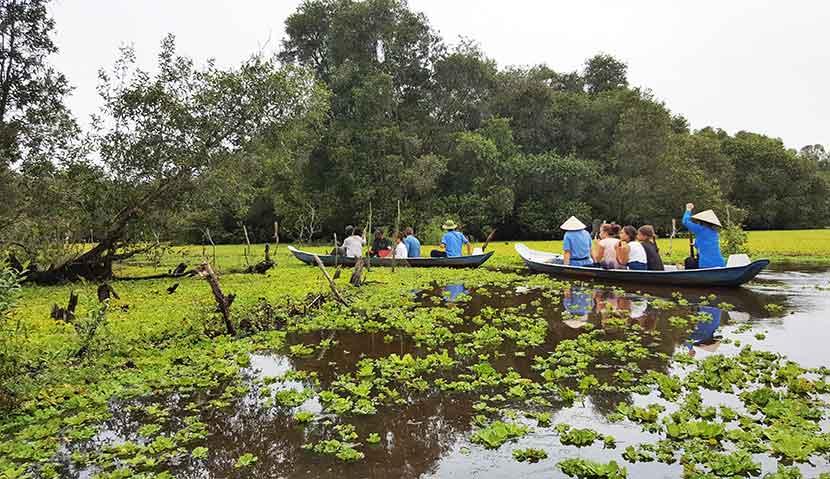 Main image ofAu coeur du delta du Mekong