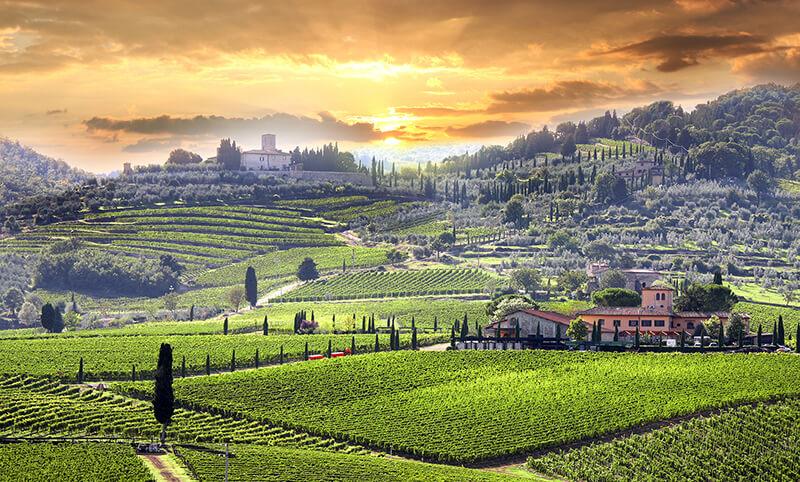 Main image ofÀ la découverte de la Toscane