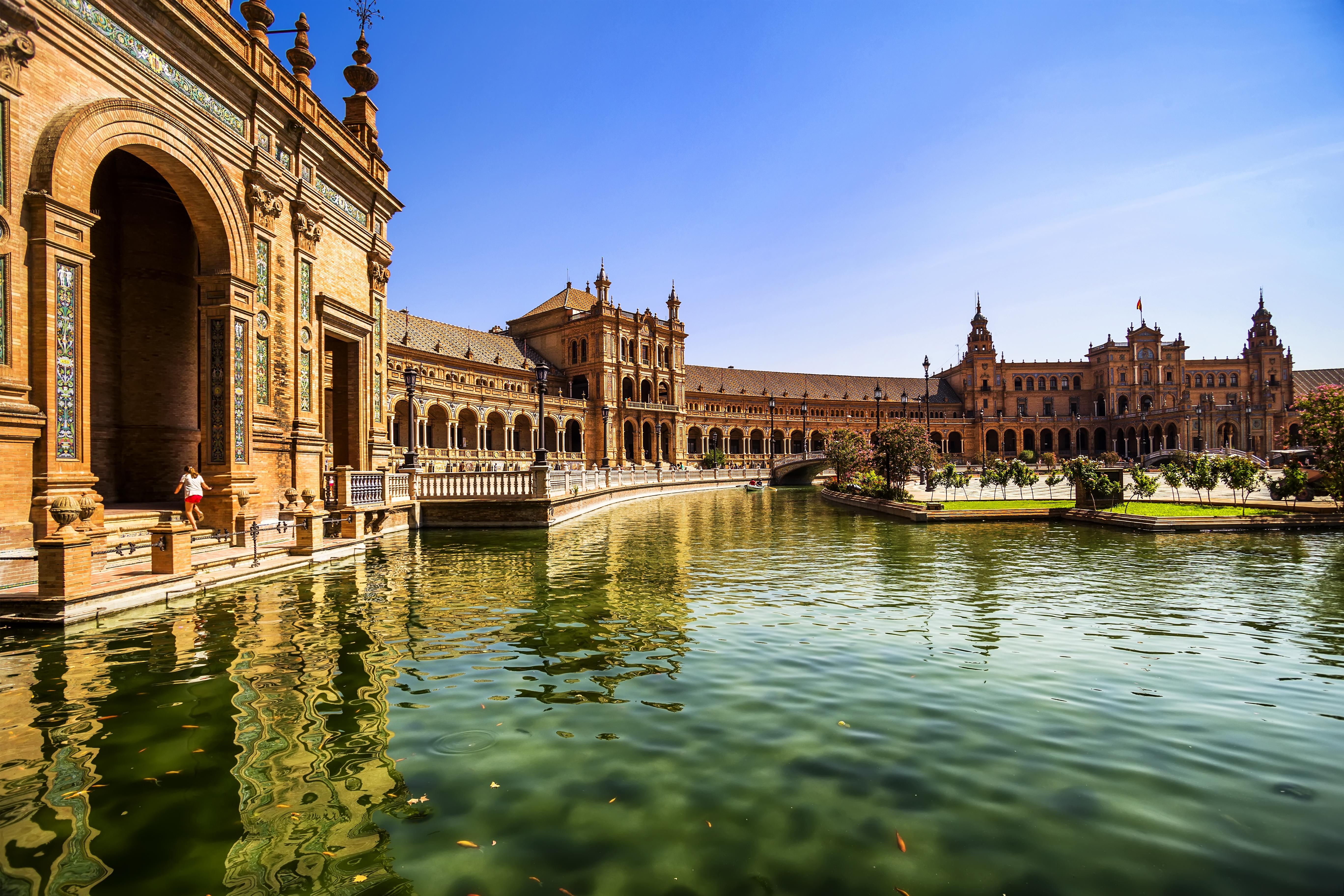 Destination image of Spain