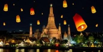 Destination image of Thailand